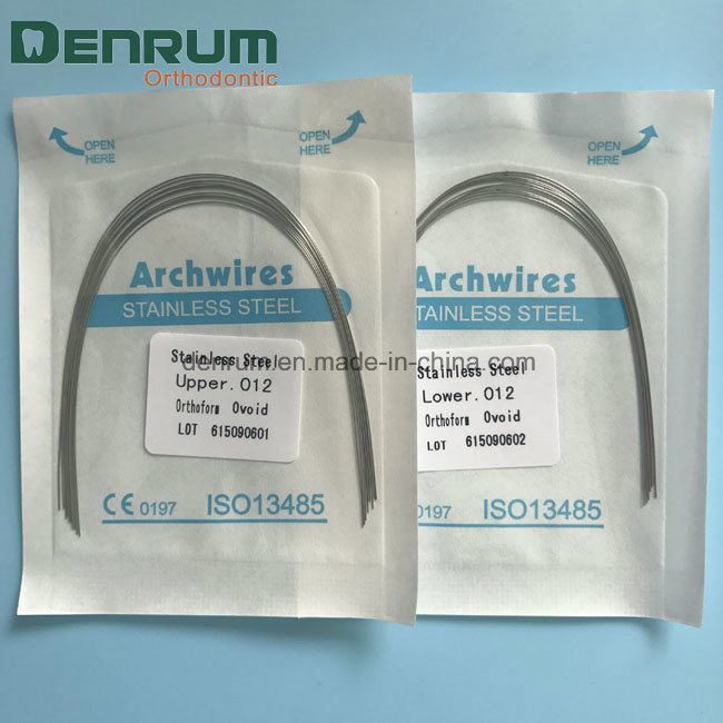 China Denrum Factory High Quality Dental Orthodontic Stainless Steel ...