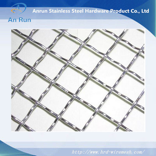 China Top Quality Square Decorative Stainless Steel Woven Crimped ...