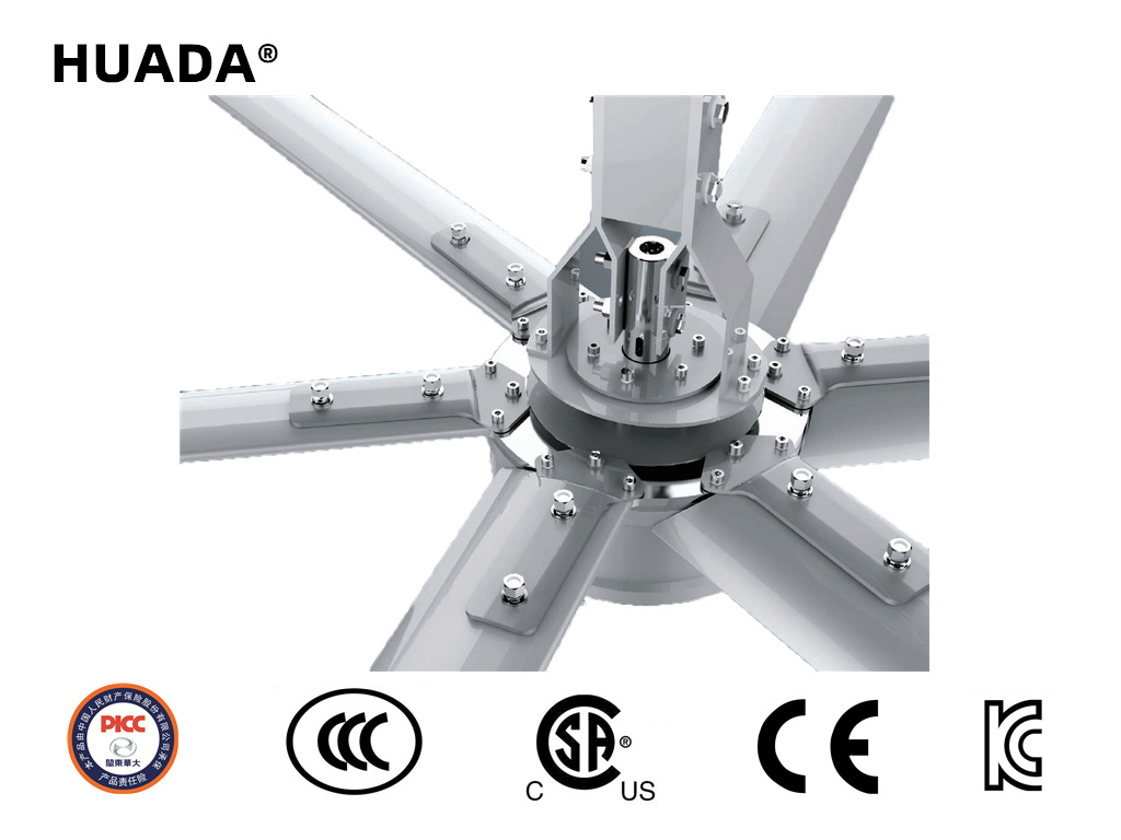 China Small Size And Light Weight Energy Efficient Industrial Ceiling Fan China External Motor Fan Air Cooling Fan