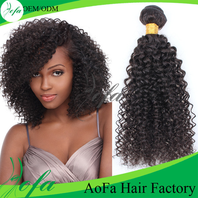China Best Selling Curly Hair Weave Human Hair Extension China