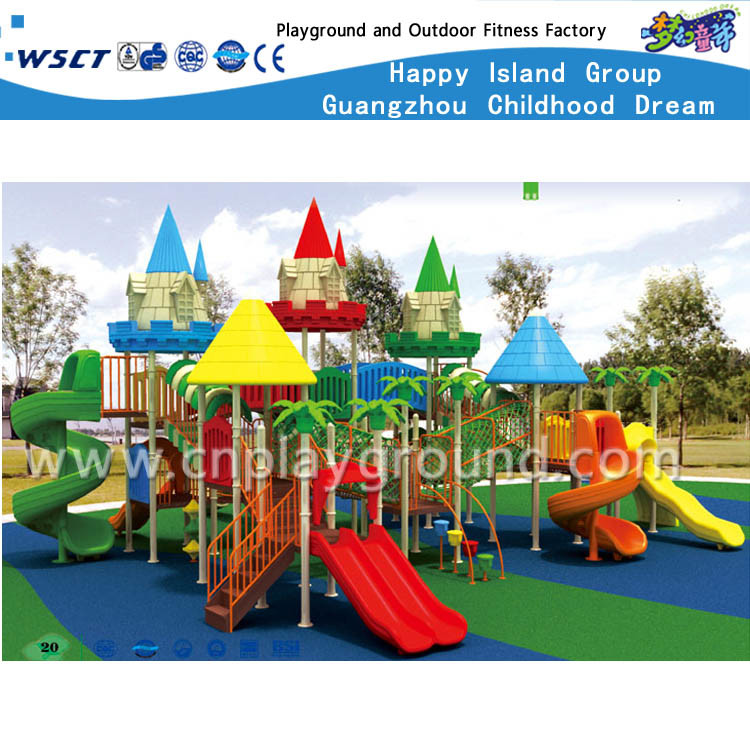 High Quality Outdoor Playground Outdoor Play Equipment on Promotion (HA-07901) pictures & photos
