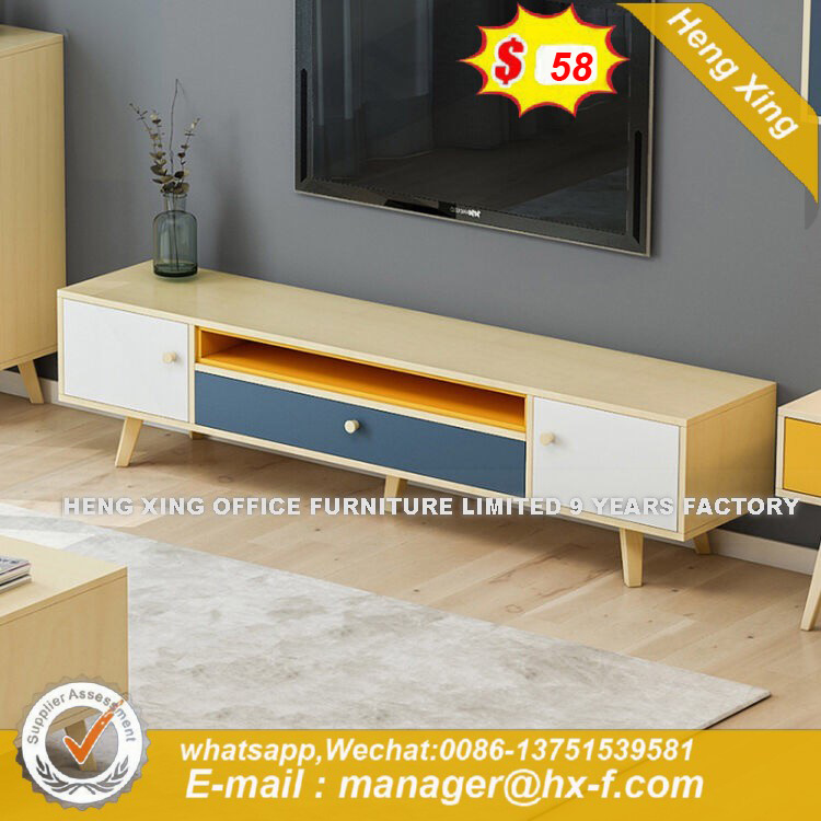 Glass Ce Certificate Round Starbucks TV Stand (HX-8ND9656) pictures & photos