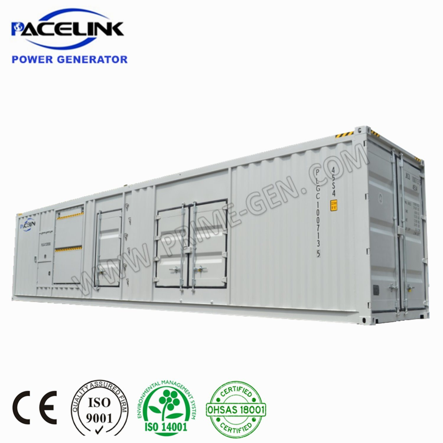 China 1250kVA Cummins Powered Containerized Super Silent Diesel Genset -  China Diesel Generator, Containerized Diesel Generator