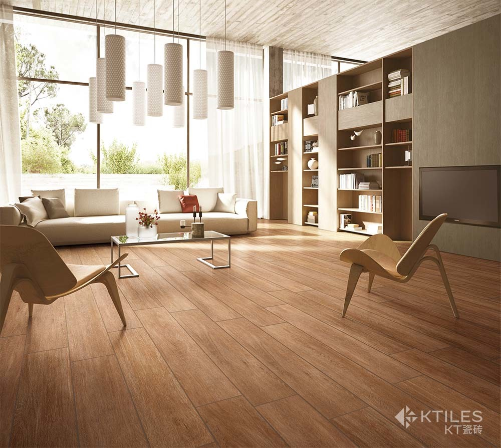 Porcelain Wood Floor Tile 600x1200mm