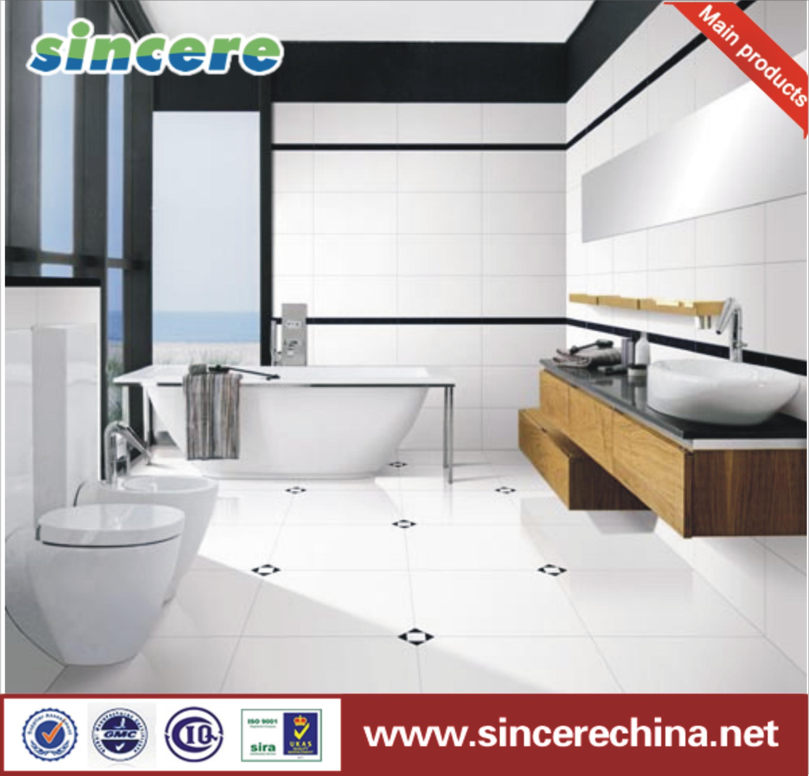 China Bathroom Washroom Toilet Kitchen Living Room Glazed Ceramic ...