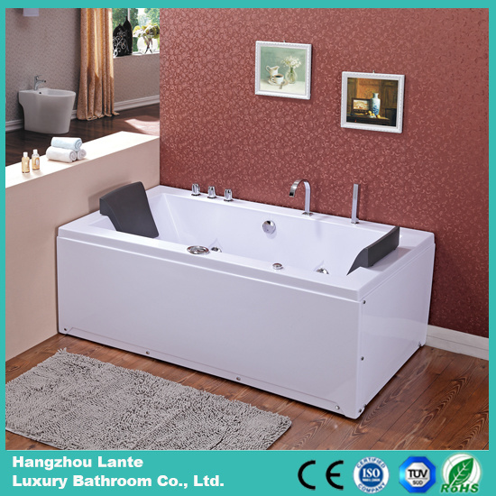 Rectangle Indoor Massage Whirlpool Bathtub (TLP-658)