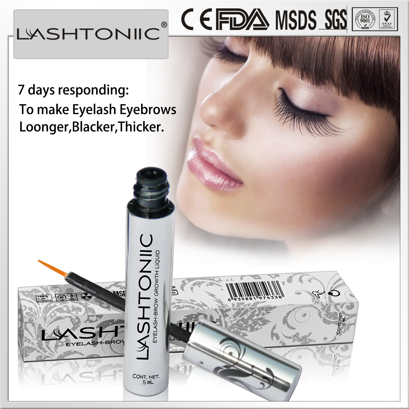 China Lashes Grow Product Most Effective Lashtoniic Eyelash Eyebrow
