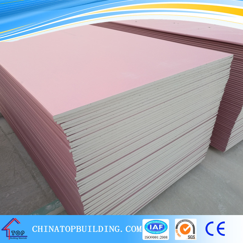 Fireproof Gypsum Board : China fire rated gypsum board real fireproof