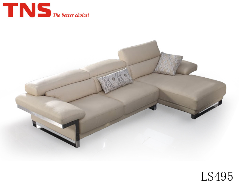 Strange Hot Item Modern Leisure Corner Sofa With Metal Leg Ls495 Gmtry Best Dining Table And Chair Ideas Images Gmtryco