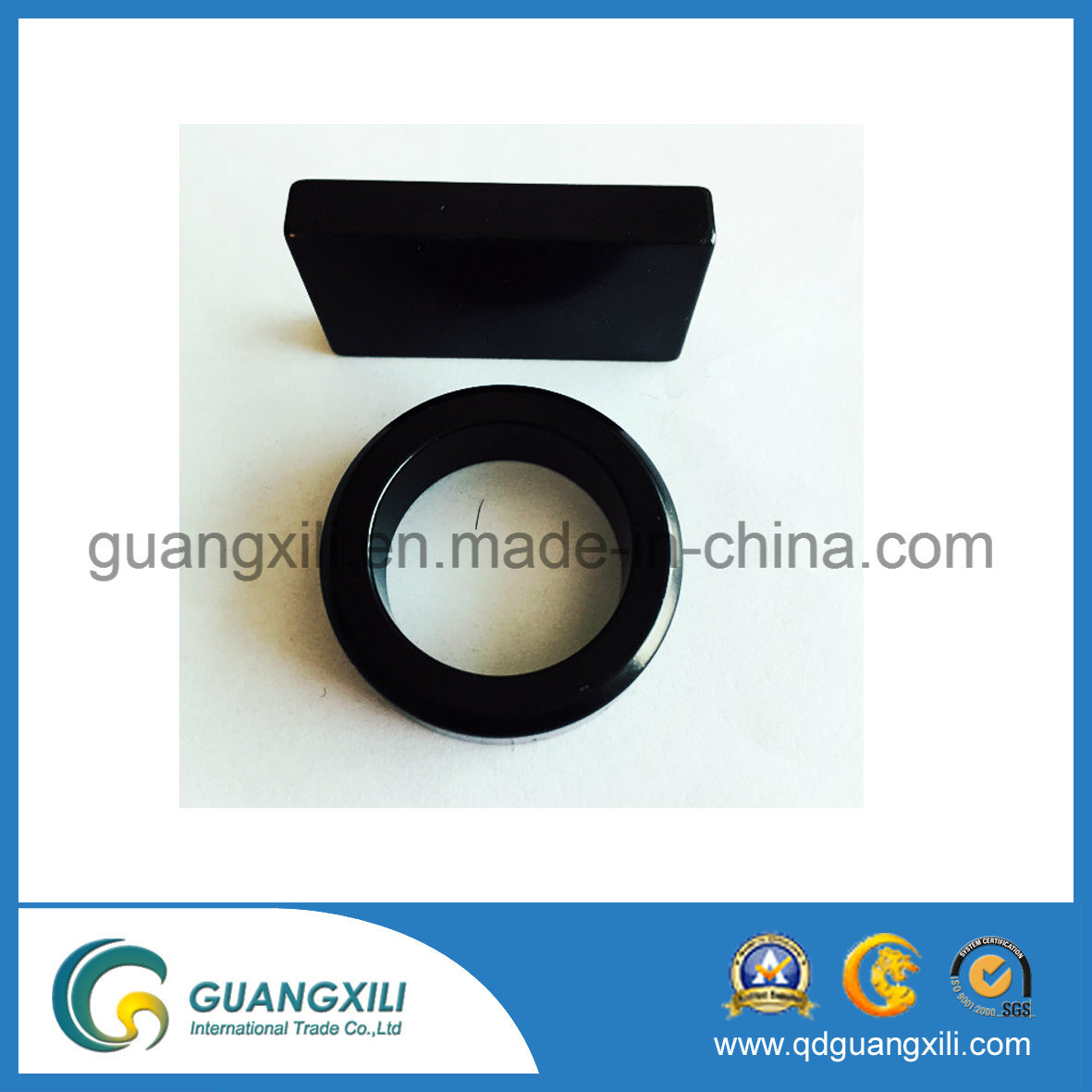 Hot Sale Professional Y35 Ferrite Magnet for Fuel Pumps pictures & photos