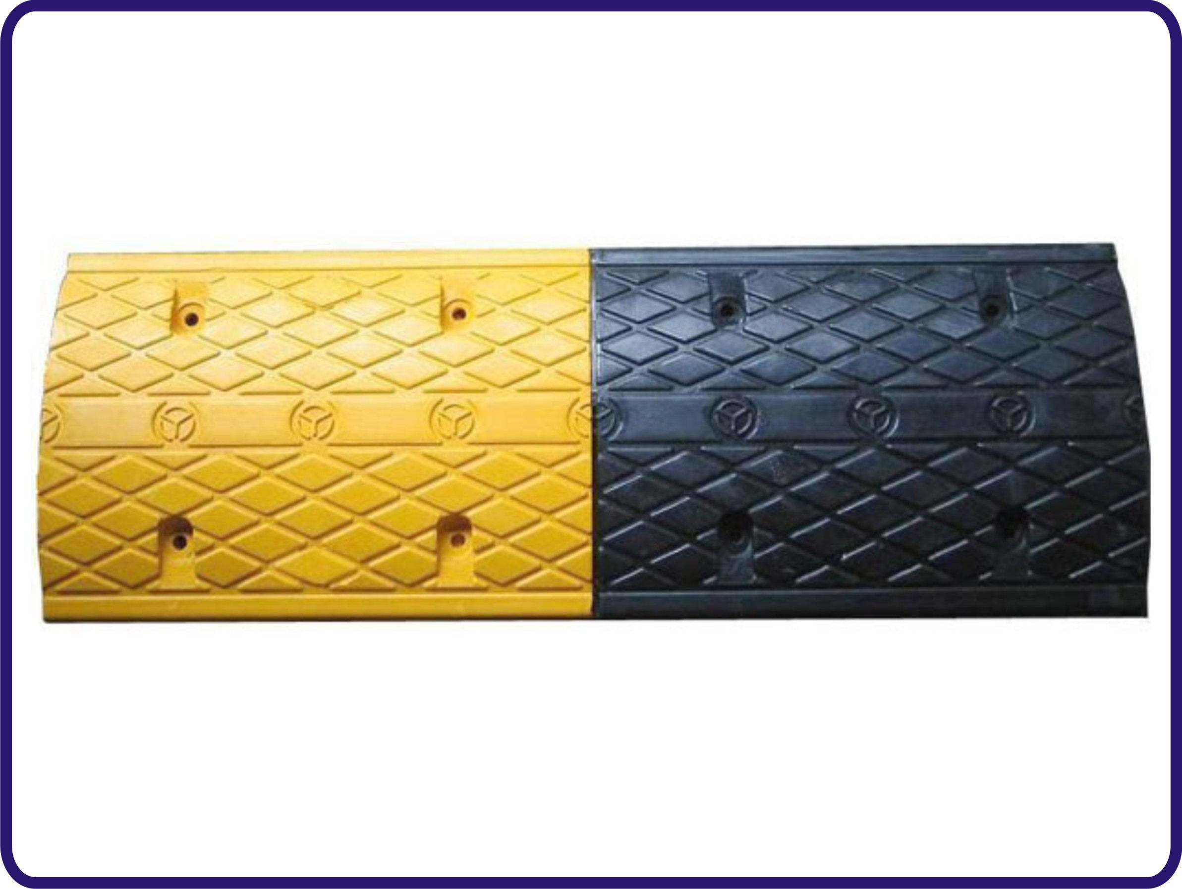 2015 Hot Sales 500*350*50mm Rubber Speed Hump pictures & photos