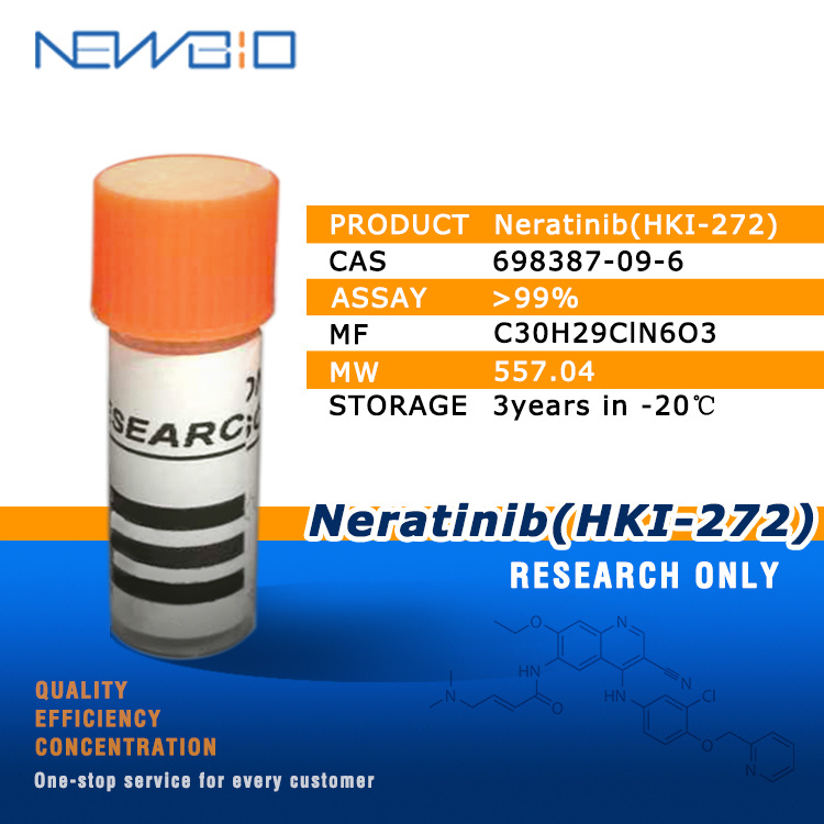 [Hot Item] Molecular API Neratinib (HKI-272) (CAS 698387-09-6)