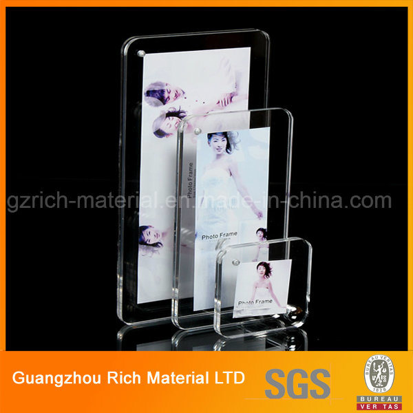 China 5X7 Clear Thick Desktop Product Display Frame/Magnetic Acrylic ...