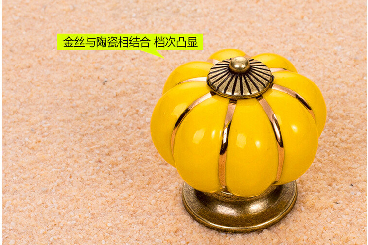 Furniture Hardware, Wardrobe Handle, Cabinet Handle, Pumpkin Handle, Al-Ng pictures & photos