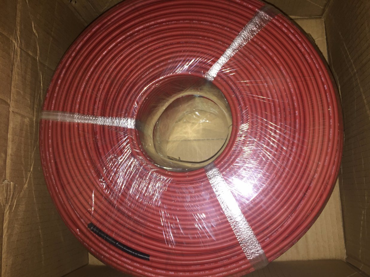 16-25mm2 1000V DC PV Cable Wire for High Voltage System