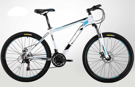 Sh-Smtb293 26 Inch Steel Frame Suspension Fork Mountain Bicycle pictures & photos