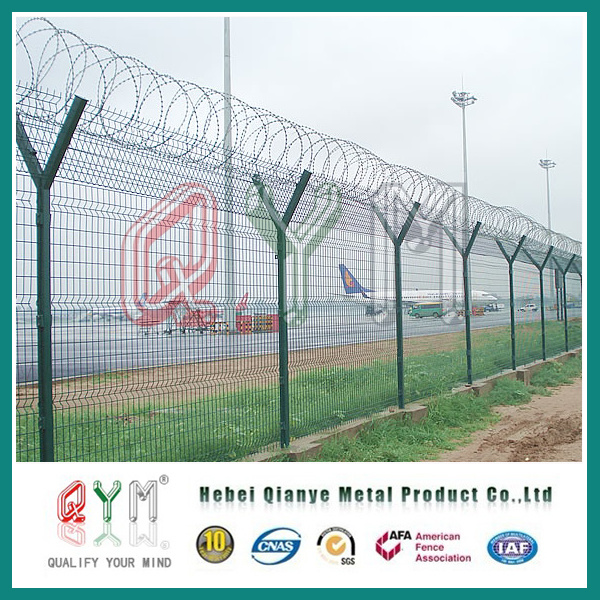 China Airport Welded Wire Fence/ Hot DIP Welded Wire Mesh Panel ...