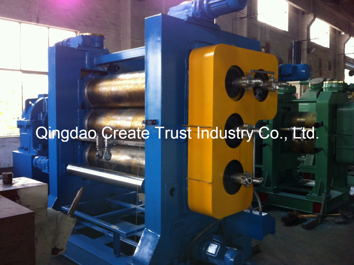 High Performance Three Rolls Rubber Calender Machine/Rubber Calender pictures & photos