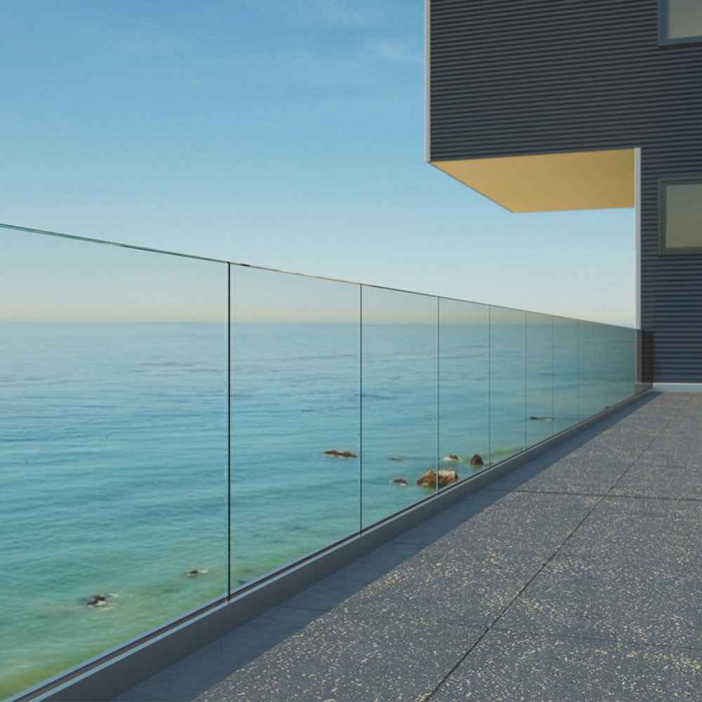 Image result for frameless glass balustrade