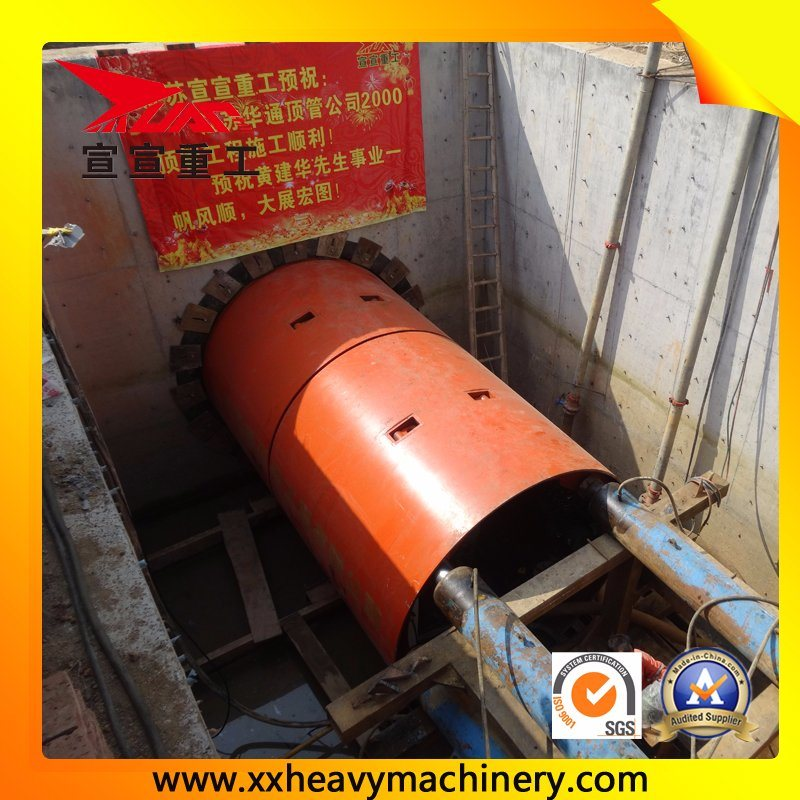 China Slurry Microtunnel Boring Machine Photos & Pictures - Made-in