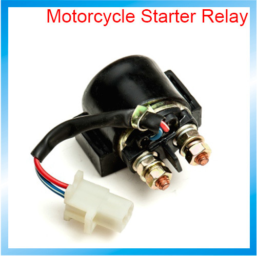 China Chongqing Motorcycle Spare Parts 12v Starter Relay