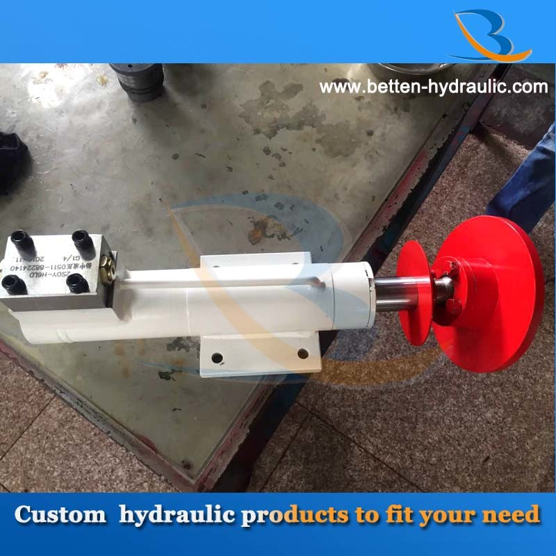 Double Acting Outrigger Hydraulic Cylinder for Mobile Crane pictures & photos
