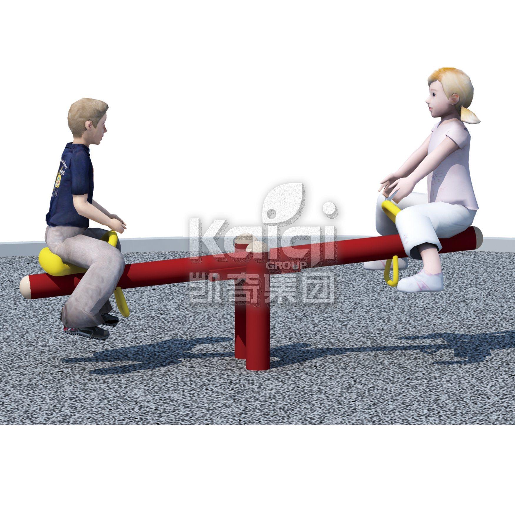 China Outdoor Playground Equipment Kids Seesaw For Park And Kindergarten Equipmen