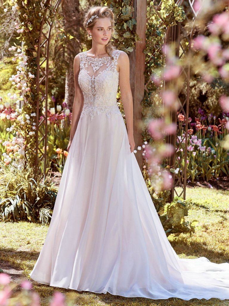 China sleeveless bridal gowns lace chiffon beach garden wedding sleeveless bridal gowns lace chiffon beach garden wedding dress lb18350 junglespirit Choice Image