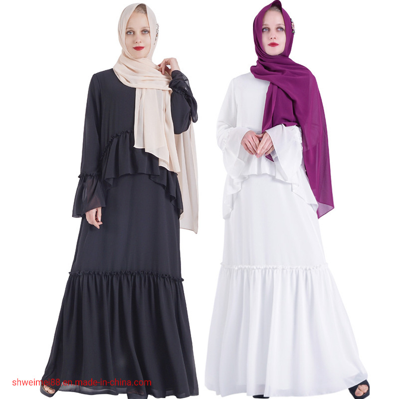 China 2020 Muslim Middle Eastern Long Dress Women Abaya Islamic National Robe Dubai Kaftan Ramadan Hijab Dress China Abaya And Kaftan Price