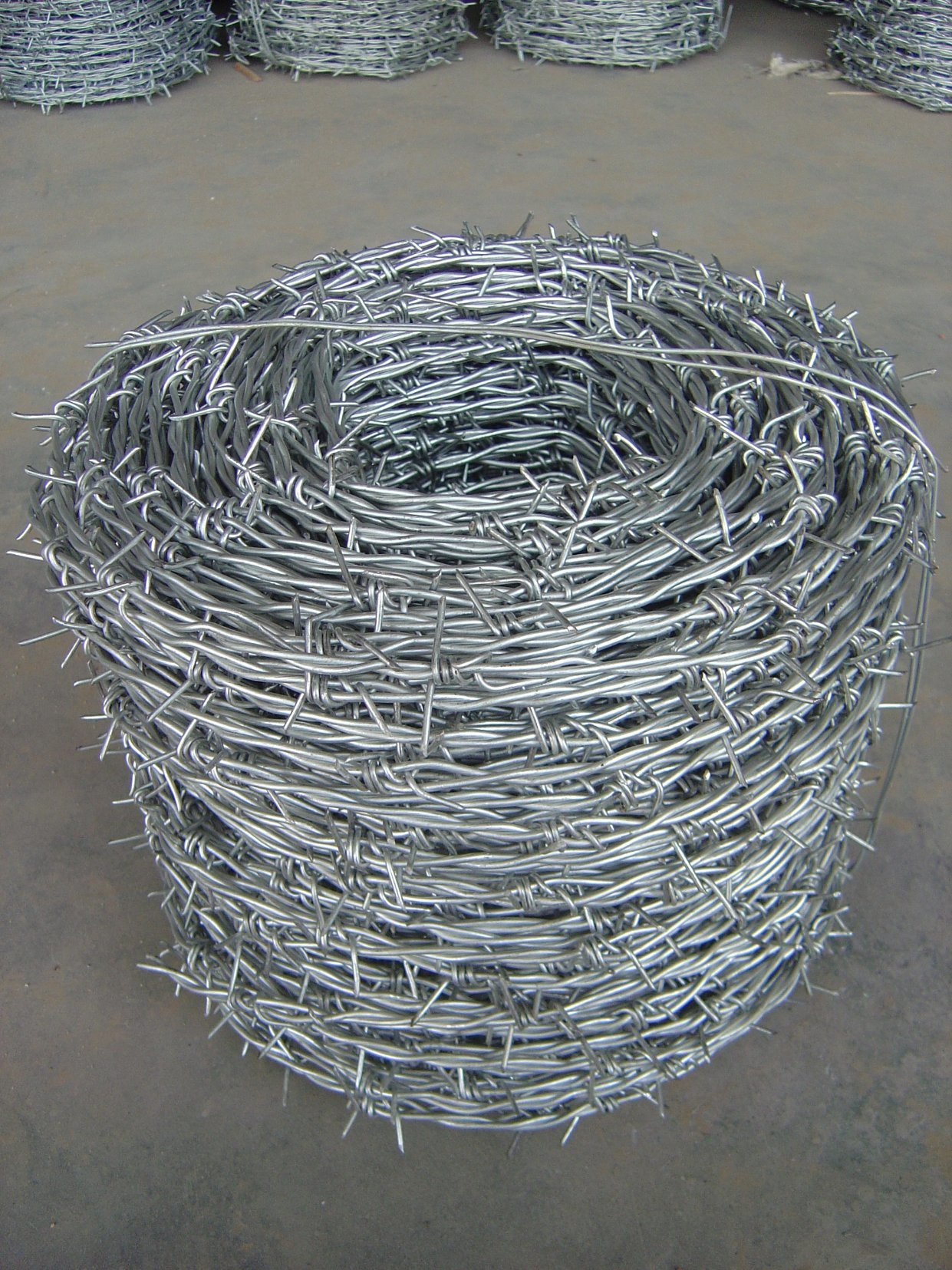 China Reverse Twist High Tension Barbed Wire - China Reverse Twist ...