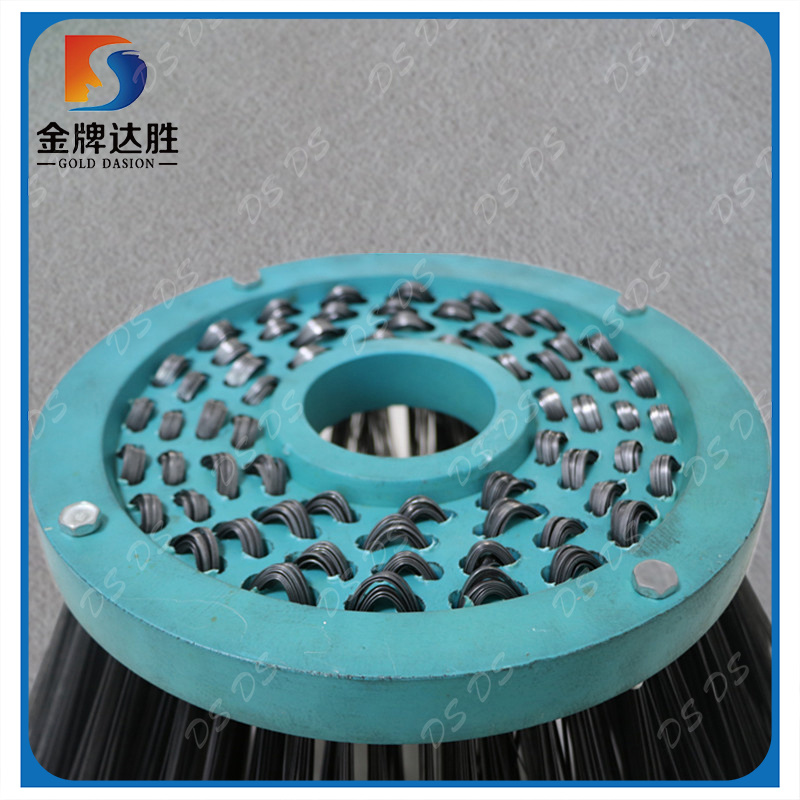 China Steel Wire Sweeper Gutter Broom Brush Photos & Pictures - Made ...