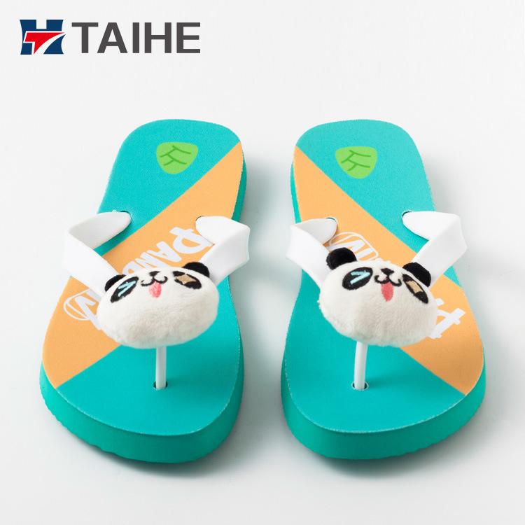 211a47ac99435d China Latest Cute Heat Transfer Designs Ladies Sandals Custom Flip ...
