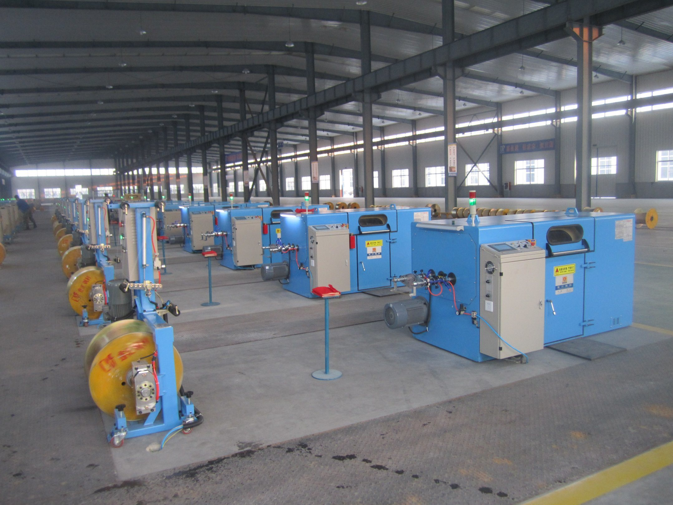 cantilever single twist machine, Bunching Machine from China ...