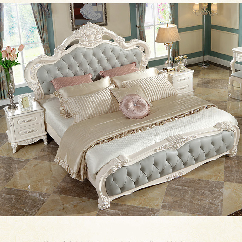 China Double Bed French Style Bedroom, French Style Bedroom Furniture