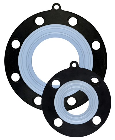 Rubber Gasket, PTFE Bonded EPDM Rubber Gasket pictures & photos