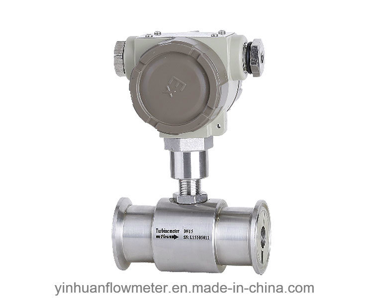 Hoop Collar Type Liquid Turbine Flowmeter