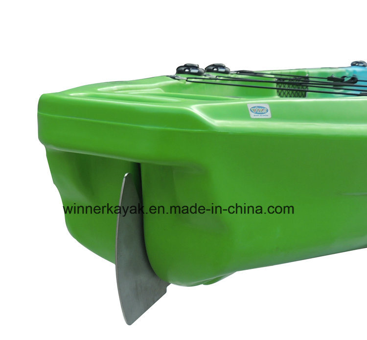Single Fishing Canoe Kayak with Pedals for Promotion pictures & photos