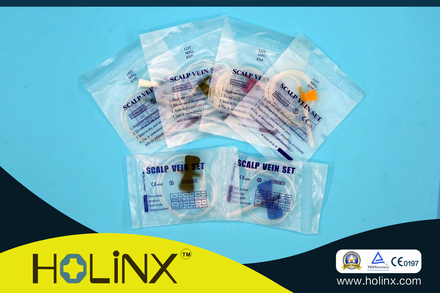 Disposable Scalp Vein Set Infusion Needle pictures & photos