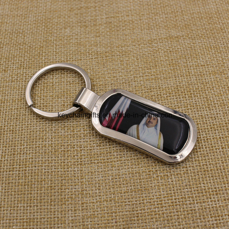 Custom Cheapest Promotional Metal Key Chain with Brand Logo pictures & photos