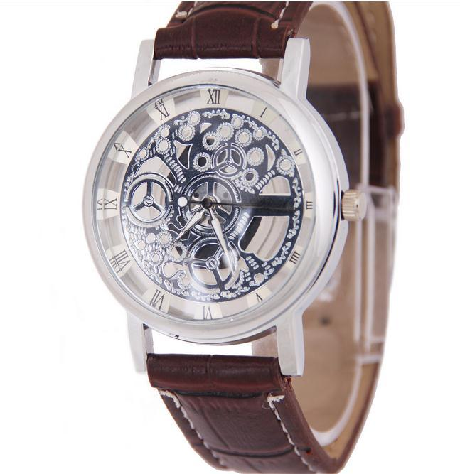 chronograph by fairfield strap watch watches s men type for browse shop belt timex leather
