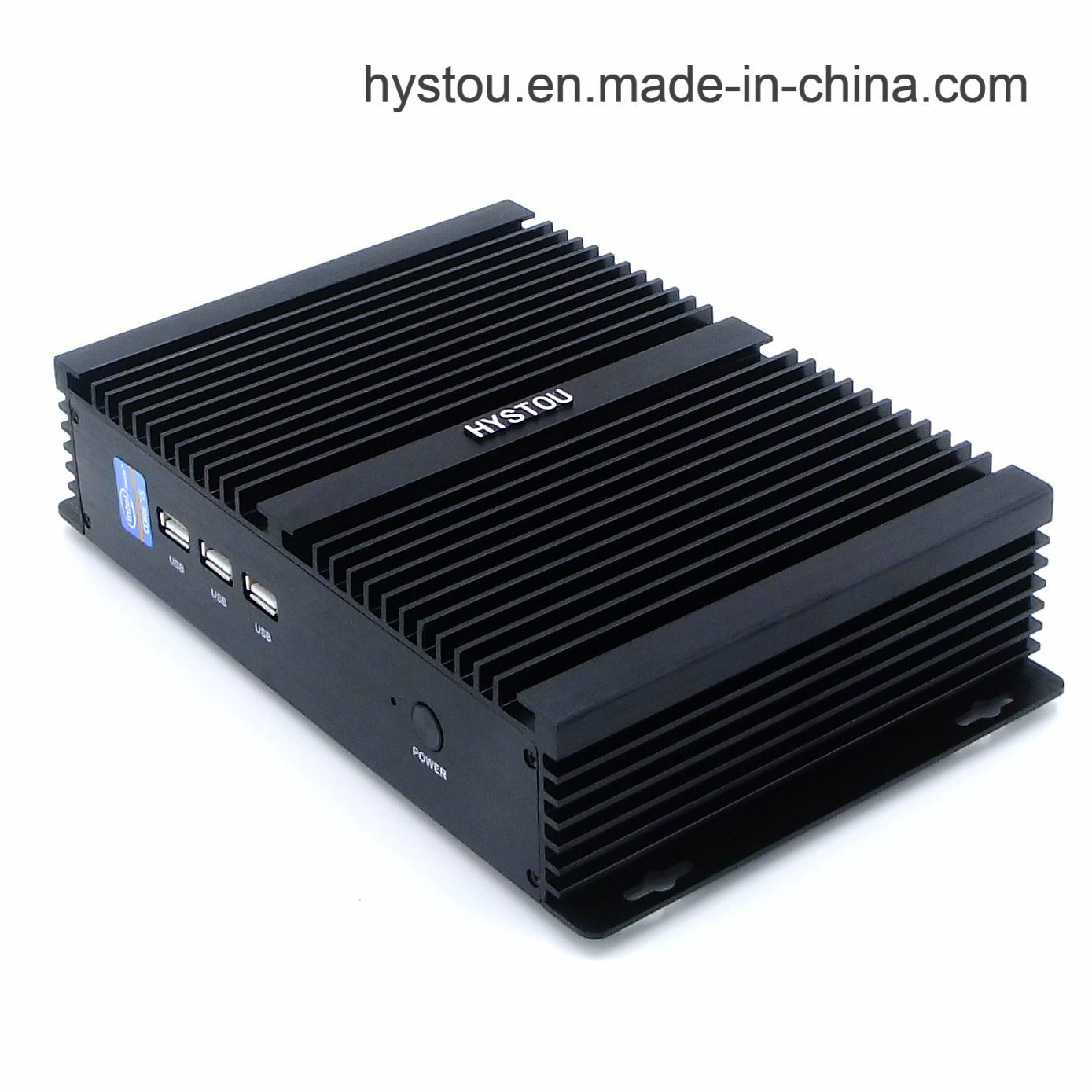 Fanless Mini PC Computer I5 Industrial Computer with Dual Display Windows 10 PRO pictures & photos