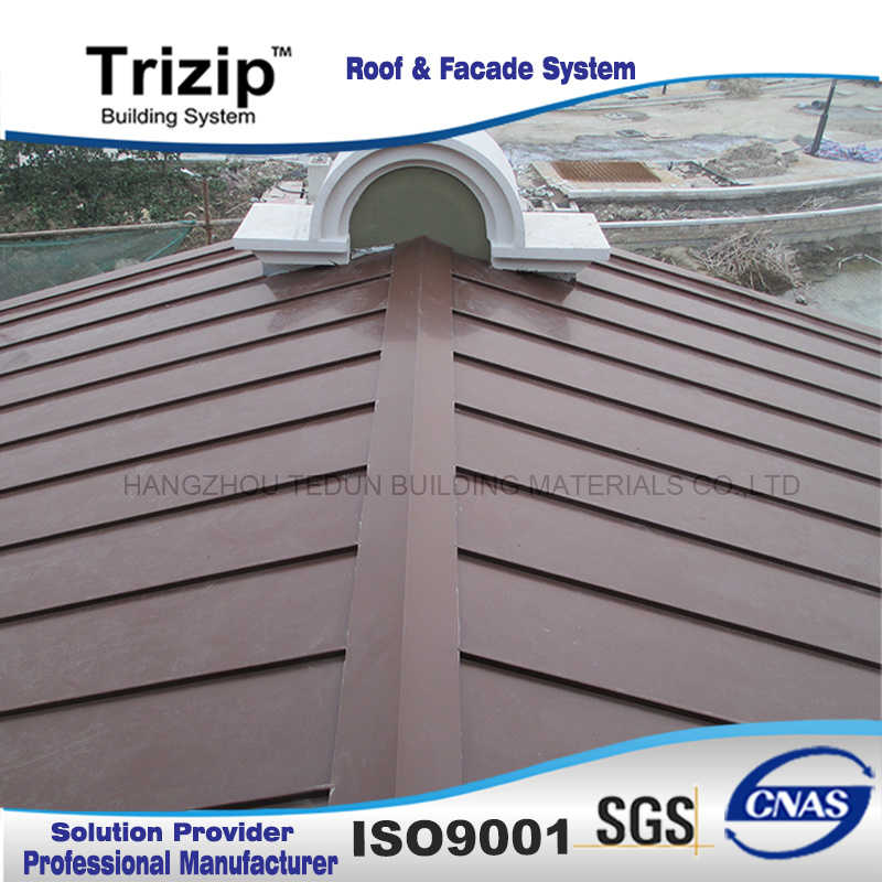 Low Rib Standing Seam Roofing Sheet (Triseam25-430) /Metal Sheet/Metal Roof