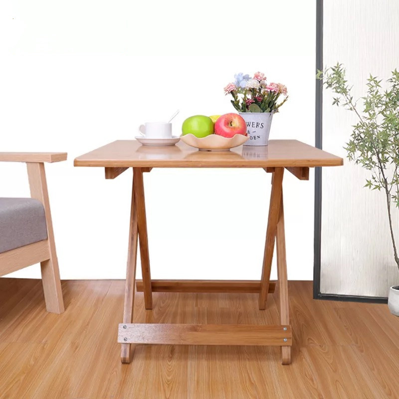 Surprising Hot Item Wood Folding End Table Couch Table Bamboo Side Table With Serving Tray Dailytribune Chair Design For Home Dailytribuneorg