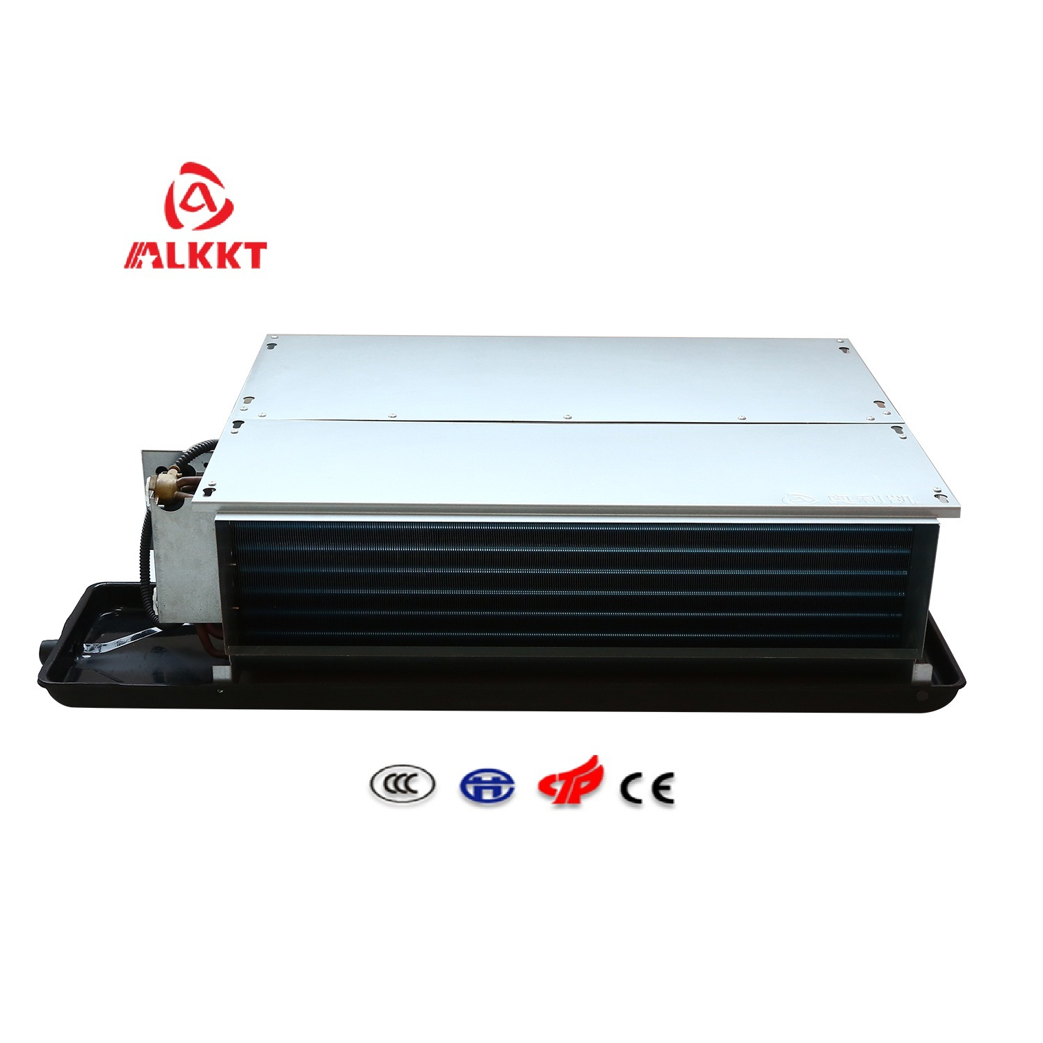 China AC System Horizontal Chilled Water Ceiling Concealed