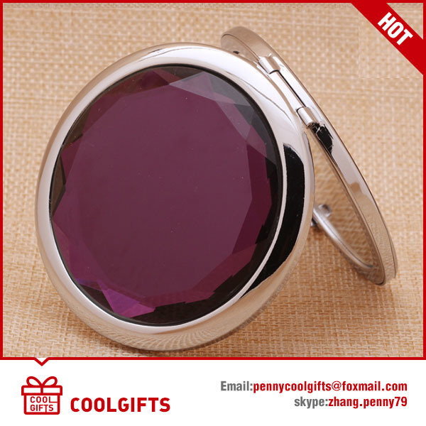 Hot Selling Crystal Foldable Compact Mirror with Custom Logo