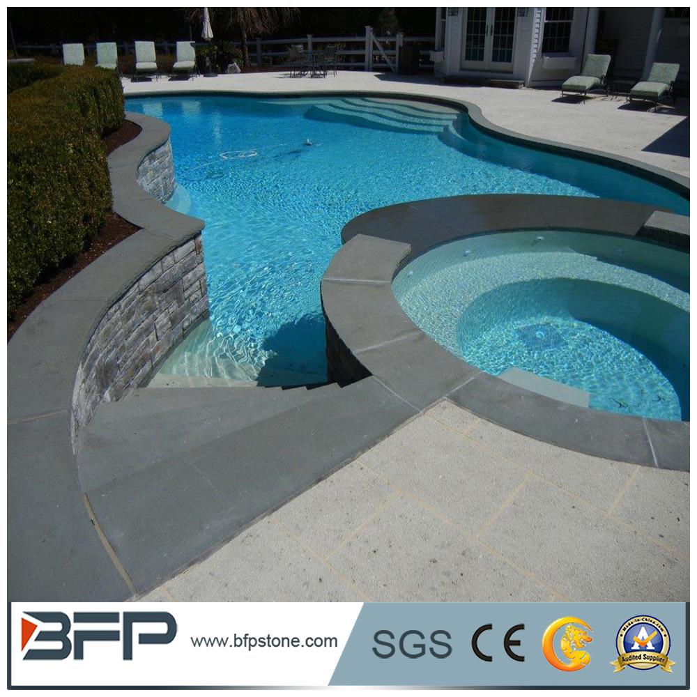 China Waterline Pool Tiles Swimming Pool Coping Granite Tiles for ...