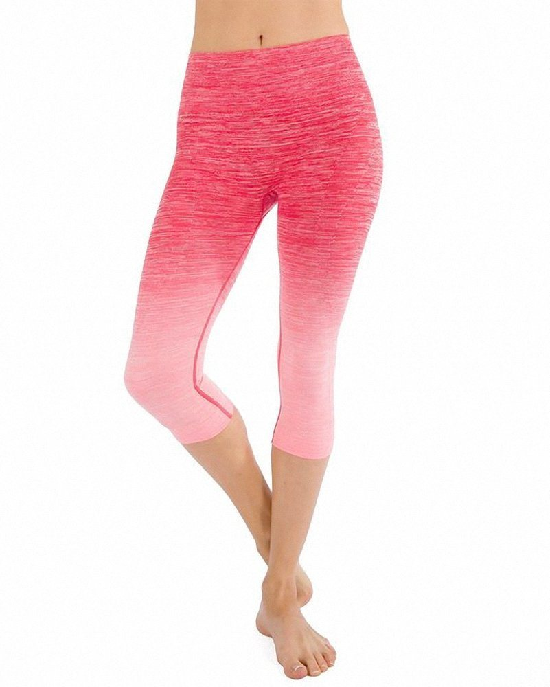 Apparel Women′s Premium Quality Yoga Gym Workout Wear Cropped Pants