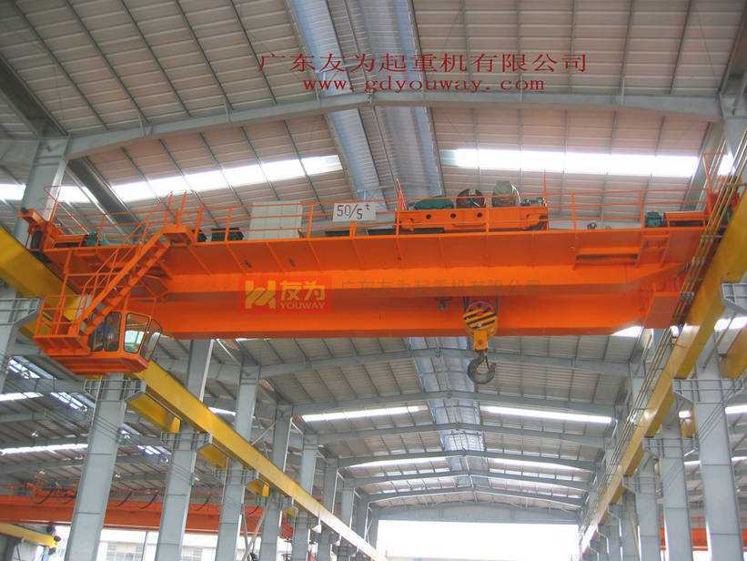 Qd 50 Ton Overhead Crane with High Working Efficiency