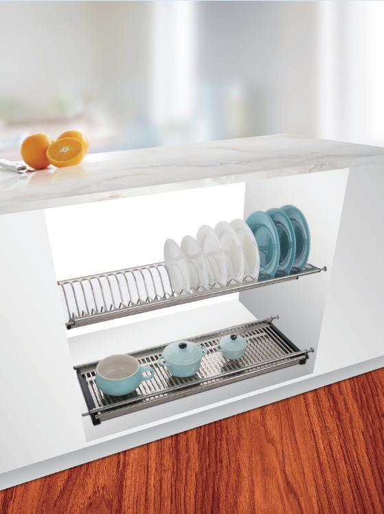Wellmax Wall Cabinet Hanging Stainless, Kitchen Cabinet Hanging Rack