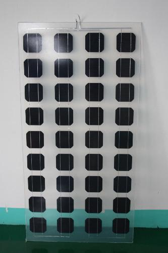 China 80w Bipv Double Glass Solar Panel Tsbm080 China